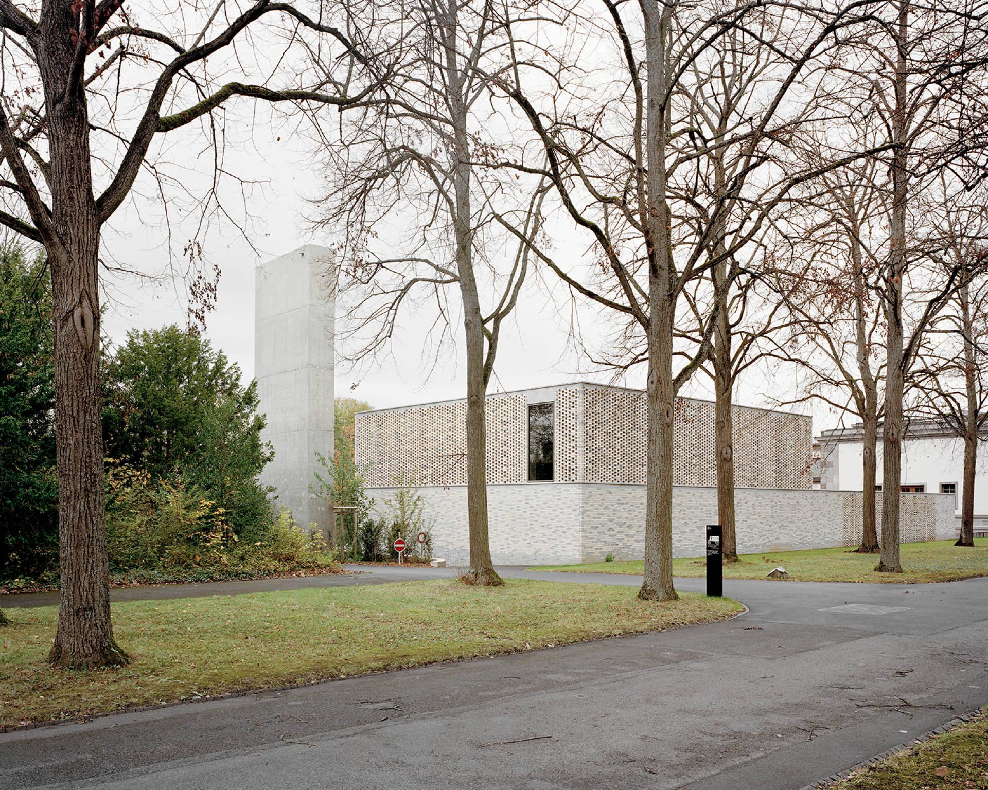 Garrigues Maurer: nuovo crematorio del cimitero di Hörnli, Basilea