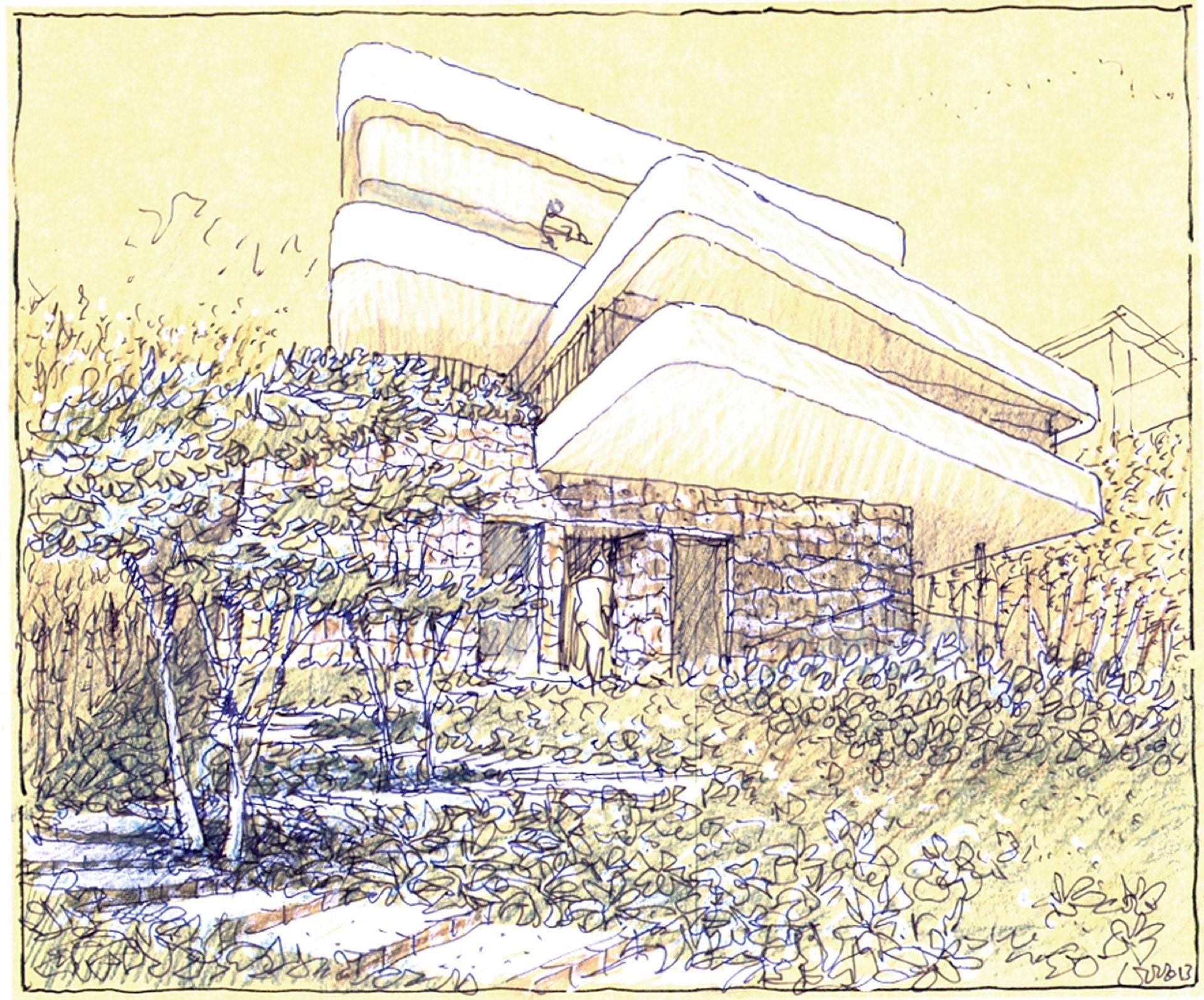Luigi Rosselli: La casa dei libri sulle rocce di Sydney
