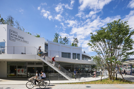 Akihisa Hirata: Art Museum and Library Ota, Giappone