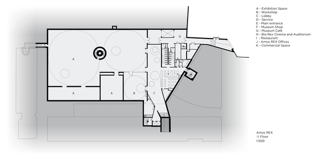 JKMM: il nuovo museo ipogeo Amos Rex a Helsinki