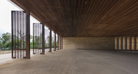 Isaac Broid + PRODUCTORA: Teopanzolco Cultural Center, Cuernavaca