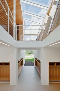 Feld72 Architekten: scuola primaria dell'unità educativa, Terento