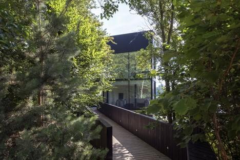 Glass Villa on the Lake di Mecanoo