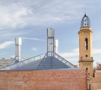 Harquitectes: Centro civico ex Cristallerie Planell, Barcellona