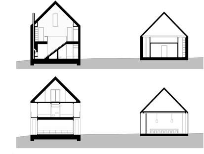 juri troy architects: nuova abitazione in una streckhof austriaca