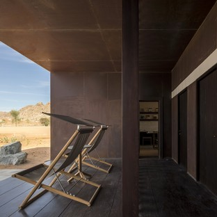 Anarchitect: Al Faya Lodge nel deserto di Sharjah, Emirati Arabi