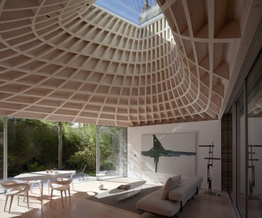 Gianni Botsford Architects: casa in un giardino a Londra