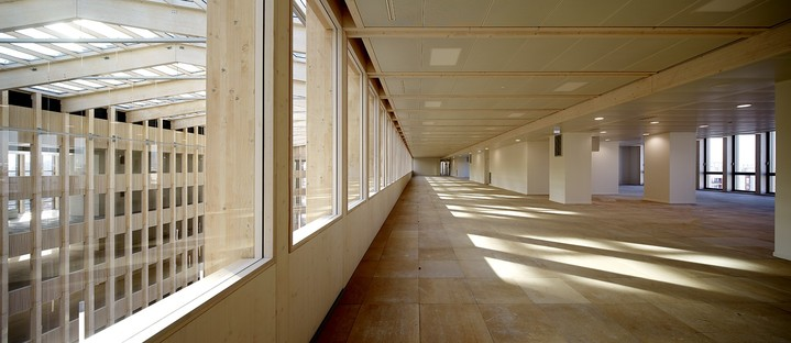 Pulse di BFV Architectes: una cattedrale di legno a Saint-Denis