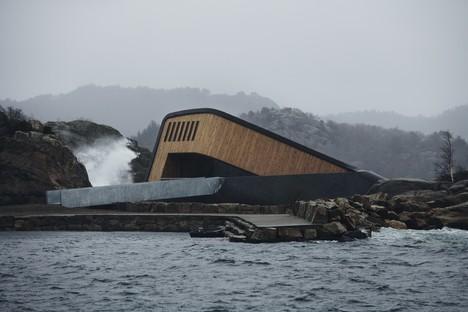 Snøhetta: Under, ristorante subacqueo sui fiordi norvegesi
