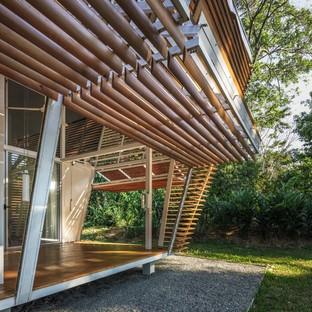 Casa Sin Huella di Schütte e A-01, abitazione scalabile per nature selvagge