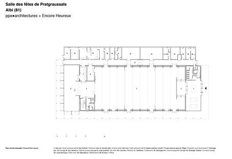 Ppa + Encore Heureux: Pratgraussals Events Hall ad Albi