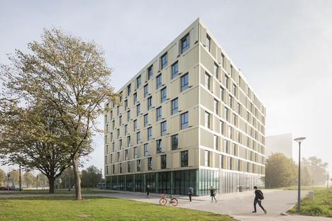 Mecanoo ha realizzato il nuovo studentato della Erasmus Universiteit di Rotterdam
