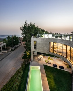 LEFT Architects: Out-to-Out House a Faqra, Libano