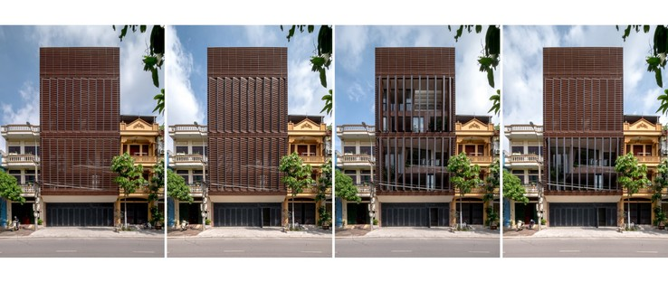 """H&P Architects: casa-tubo e """"caverna tropicale"""" in Vietnam"""