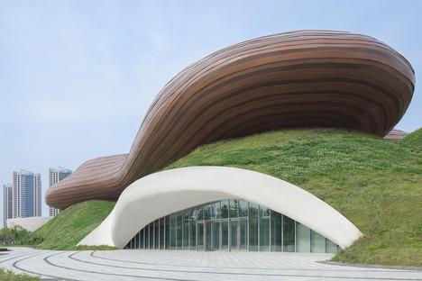 Melodie fluttuanti: Liyang Museum di Crox Group