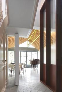 Bovenbouw: Ristrutturazione di una casa su Lovelingstraat, Anversa