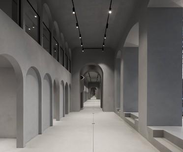 WALL Architectural Bureau per Rasario: non showroom ma