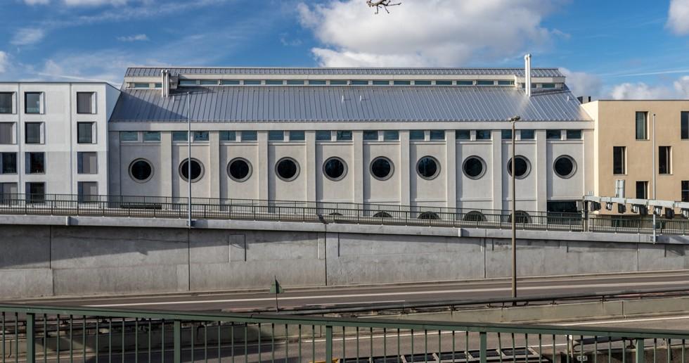 Harry Gugger: riconversione dello storico Silo Erlenmatt, Basilea
