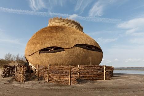 RO&AD + RAU: Osservatorio Tij nella riserva De Scheelhoek, Olanda