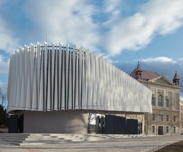 Qarta architektura: Auditorium del College of Polytechnics, Jihlava