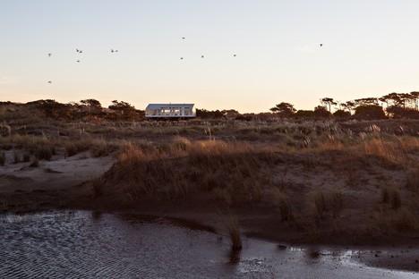 Casa RM di Alric e Galindez, tra la Pampa e l'Oceano Atlantico