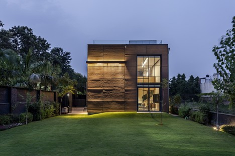 Palm Avenue di Architecture Discipline: ritrovare la natura a New Delhi