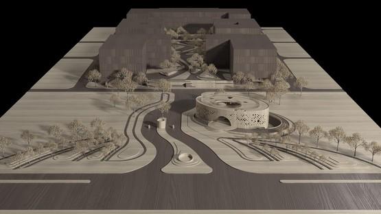 Il nuovo White Building del Chengdu Science and Technology Industry Incubation Park porta la firma di CROX