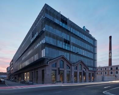 Qarta Architektura: Five, ex deposito dei tram a Smíchov, Praga
