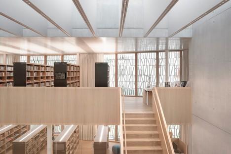 Dietrich Untertrifaller: Nuova biblioteca pubblica di Dornbirn