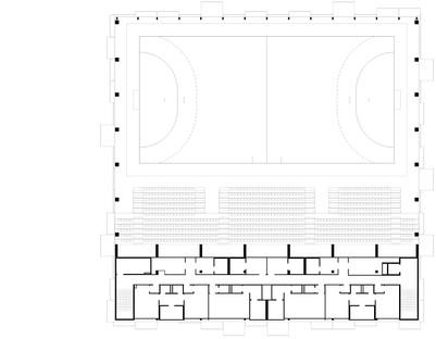 Hatvan Multifunctional Sports and Events Hall di Napur Architect