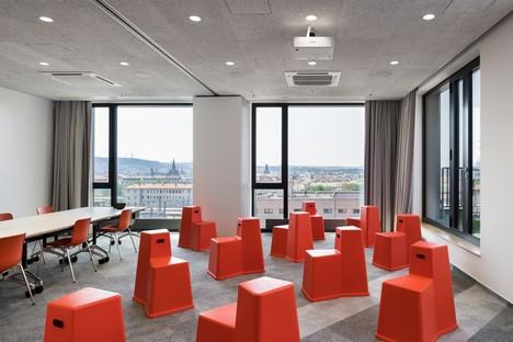 Perspektiv: Uffici per FEG Fortuna Entertainment Group a Praga