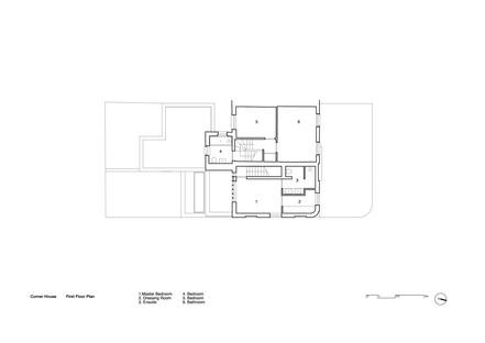 31/44 Architects: Casa ad angolo a Peckham, Londra