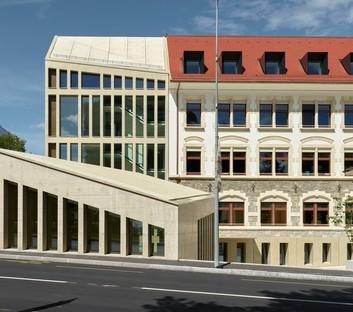 In_Out Cathrin Trebeljahr: Ampliamento dell'ex-prefettura di Versoix