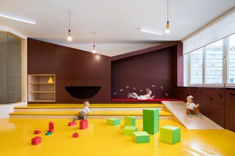 No Architects: Riqualificazione dell'asilo nido Malvína a Karlín