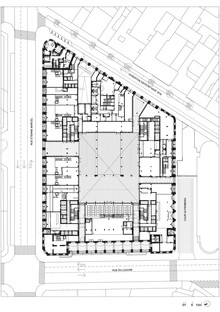 Dominique Perrault: Restauro e trasformazione della Poste du Louvre