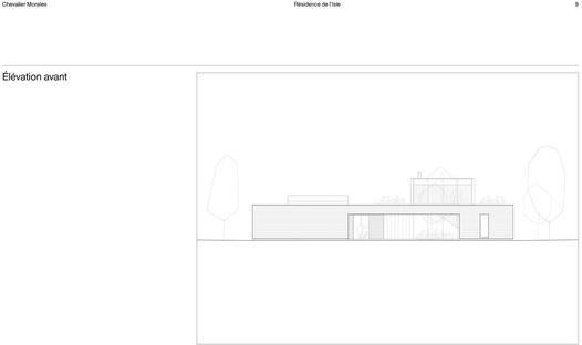 Residence de l'Isle di Chevalier Morales: un quadrato perfetto