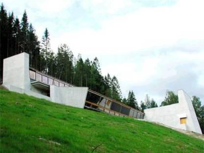 Sverre Fehn Centro Ivar Aasen, Orstad, Norvegia, 2000
