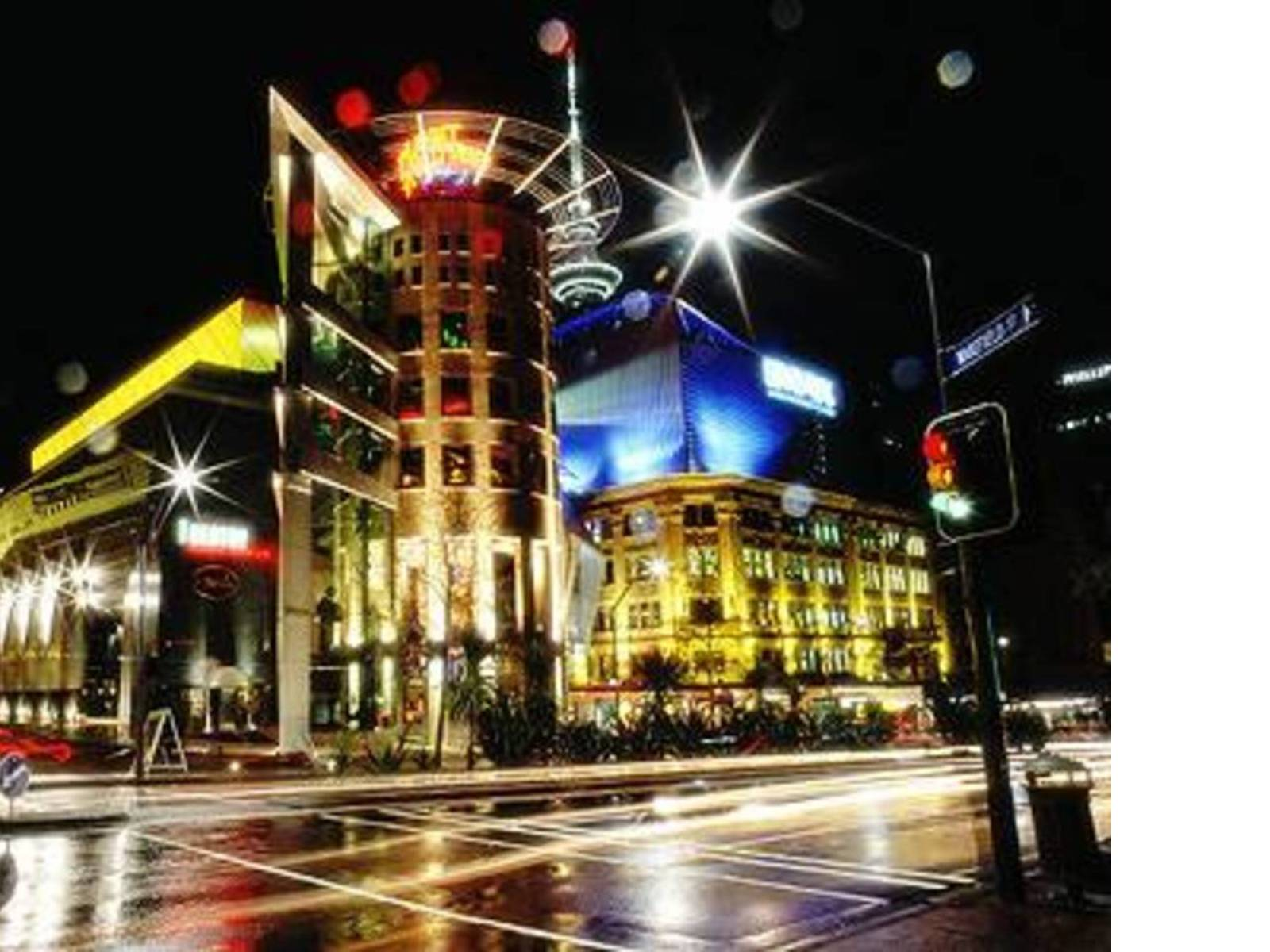 Force Entertainment Centre Ristorante Planet Hollywood in Auckland