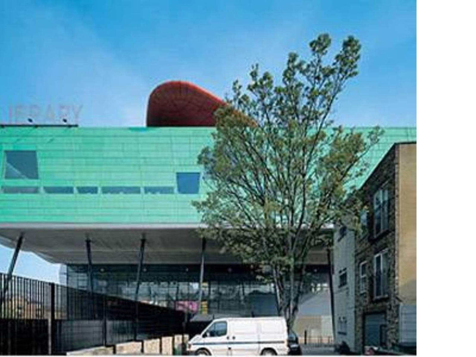 William Alsop: Peckham Library, Londra