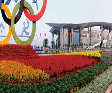 Ellerbe Becket: il Guangdong Olympic Stadium di Guangzou, 2002