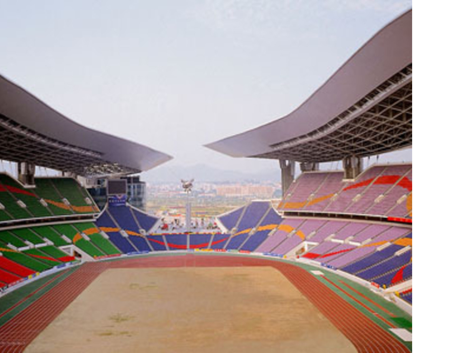 Ellerbe Becket: il Guangdong Olympic Stadium di Guangzou, 2002