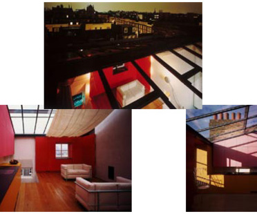 Sauerbruch Hutton Architects,<br> tre case a Londra
