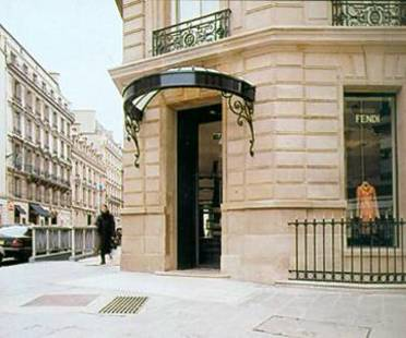 FENDI SHOP, Lazzarini & Pickering Architects,<br> Parigi,  Francia, 2001