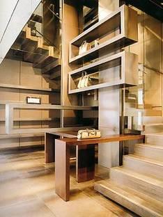 FENDI SHOP, Lazzarini &amp; Pickering Architects,<br> Parigi,  Francia, 2001