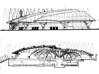 Renzo Piano<br> Aula Liturgica Padre Pio, S. Giovanni Rotondo (Foggia), Italia