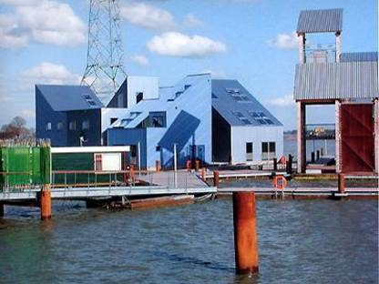 Architectenbureau Art Zaaijer Water houses, Amsterdam 2001