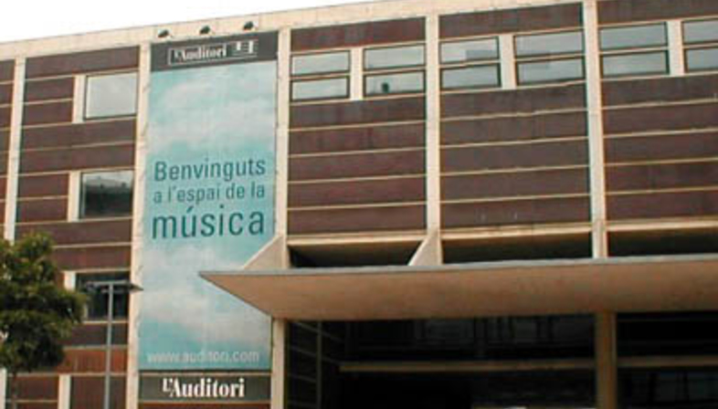 Rafael Moneo: Auditorium di Barcellona, 1988-1999