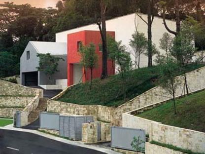 Sottsass Associati: Villaggio a Singapore