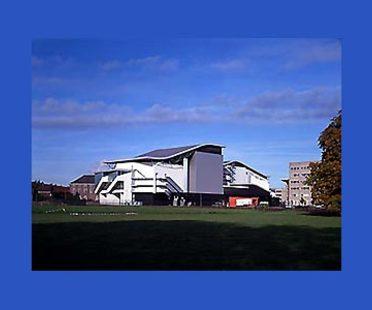 Teatro Chass&eacute; a Breda, Olanda,<br> 1992-1995. Herman Hertzberger