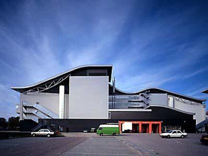 Teatro Chassé a Breda, Olanda,<br> 1992-1995. Herman Hertzberger